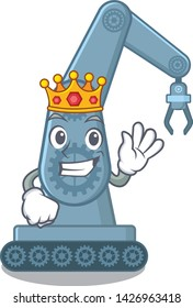 King toy mechatronic robot arm cartoon shape