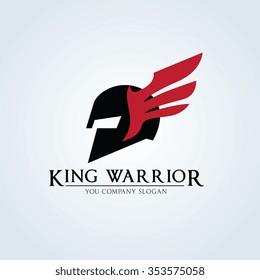 King Warrior Logo