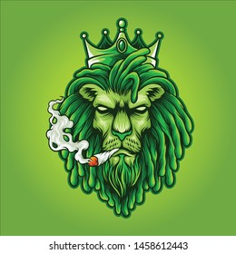 the king of weed logo