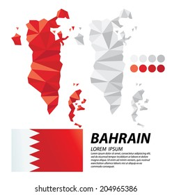 Kingdom of Bahrain geometric concept design