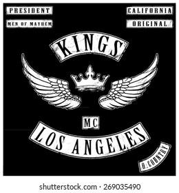 kings motor club tshirt graphics