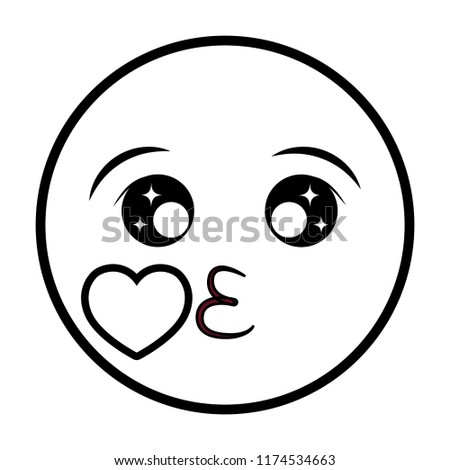 Draw Heart Kissy Face Pictures Emoji Www Picturesboss Com