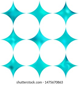 Kit of diamond-shaped blurred backgrounds. Simple style of 80th. Trendy soft color quadrangle. Blue modern abstract cover for your graphic design or creative projects.
