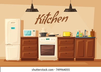 Cartoon Kitchen Images, Stock Photos & Vectors | Shutterstock on animated kitchen, cartoon clean kitchen, top cartoon from the kitchen, drawing of cartoon kitchen, cartoon restaurant kitchen, cartoon mother with a kitchen,