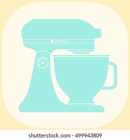 Kitchen mixer icon.