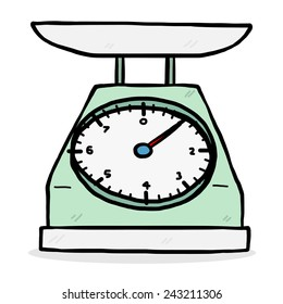 Weigh Scale Cartoon Images, Stock Photos & Vectors | Shutterstock