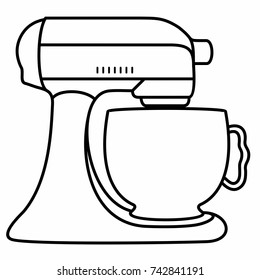 Kitchen Stand Mixer Cook Food
