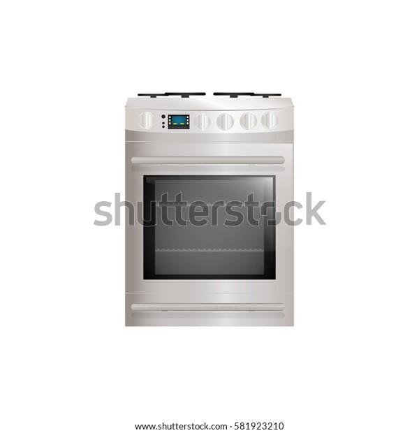 Kitchen stove appliance icon vector illustration graphic design