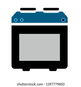 Kitchen stove vector icon. filled flat sign for mobile concept and web design. Gas Oven glyph icon. Symbol, logo illustration. Pixel perfect vector graphics
