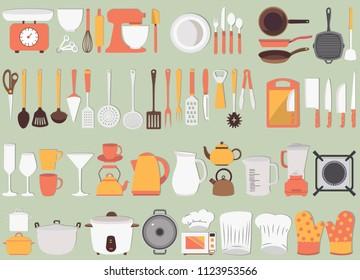 Kitchen Tool Vectors