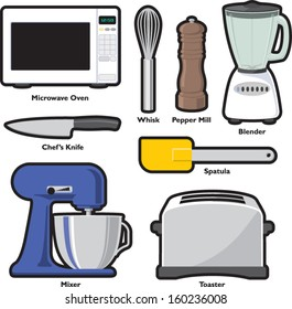 Kitchen Tools and Small Appliances - Set 1