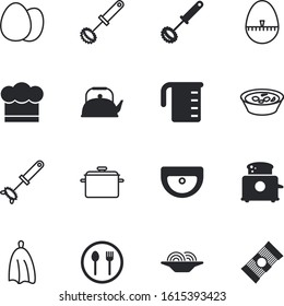 kitchen vector icon set such as: drink, electric, glass, saucepan, tea, heat, bread, costume, numeral, knife, tableware, cooker, culture, bath, web, steam, pans, liquid, clothing, silverware