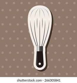 kitchenware beater theme elements vector,eps