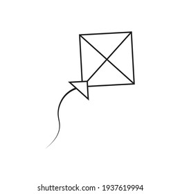 Kite icon design. vector illustration