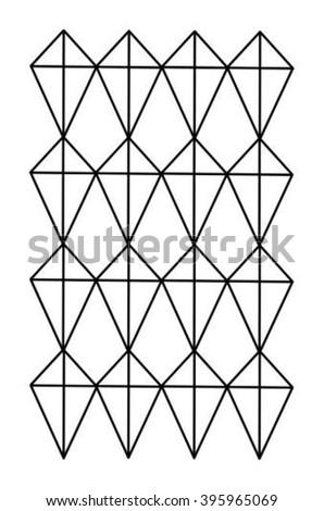 Kite Shape Pattern Stock Vector Royalty Free 40 Shutterstock Extraordinary Kite Pattern