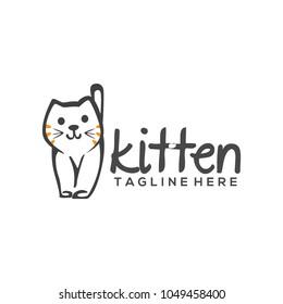 Kitten Logo Design