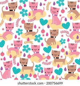 kitty cat illustration