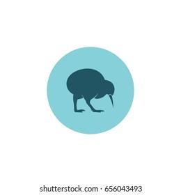 kiwi bird icon vector logo