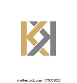 KK Initials Logo