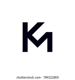 KM vector letters
