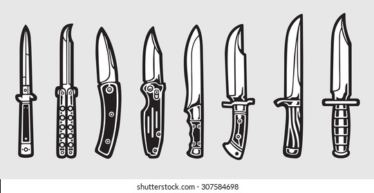 1000 Butterfly Knife Stock Images Photos Vectors