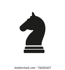 Knight chess piece icon