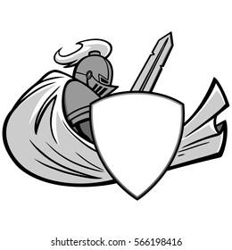Knight Graphic Illustration