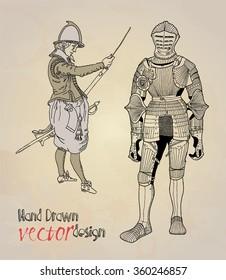 knight.  guard