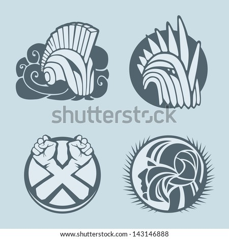knight helmet logo template stock vector royalty free 143146888