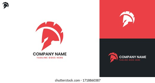 Knight Logo - All elements on this template are editable with vector software