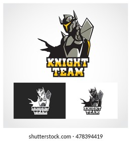 Knight Symbol. Suitable for professional design use.