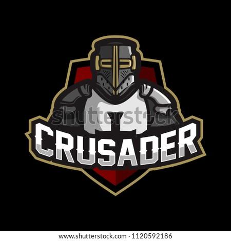 knightcrusader esport gaming mascot