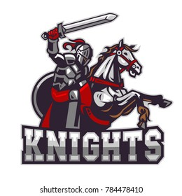 Knights Riding Horse