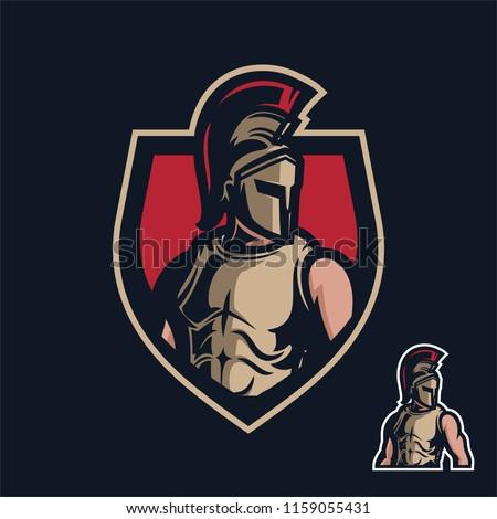 knightsparta sport gaming mascot