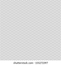 Knit texture, seamless pattern