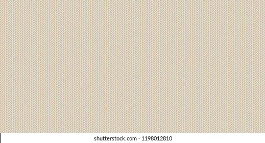 Knitted texture, wool melange yarn. Elegant shade of Almond Buff. Beige tint of almond bone in vector seamless background. Modern, fashionable color. Perfect place for text. Woolen cloth, handmade.