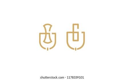 knocker door vector icon logo