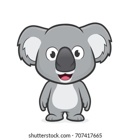 Koala standing