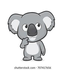 Koala thinking