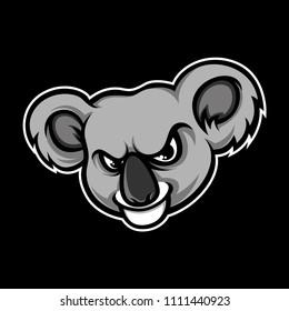 Koalas head vector