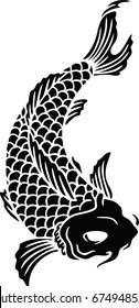 Koi Fish Vector