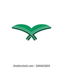 Koran (Al-Quran) icon logo.