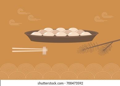 korean traditional food.