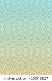 Korean traditional pattern, abstract & geometry vector pattern, oriental wallpaper, korean vintage background