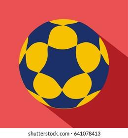 Korfball ball vector illustration