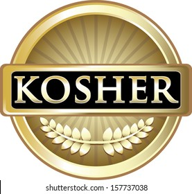 Kosher Product Label