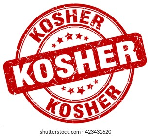 kosher. stamp