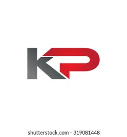 KP company group linked letter logo