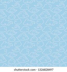 K-Pop Seamless Pattern - Cute pattern design inspired by South Korea's K-pop music scene