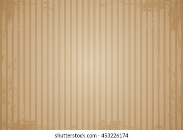 Kraft recycled paper texture vector. Vintage background with scrapes